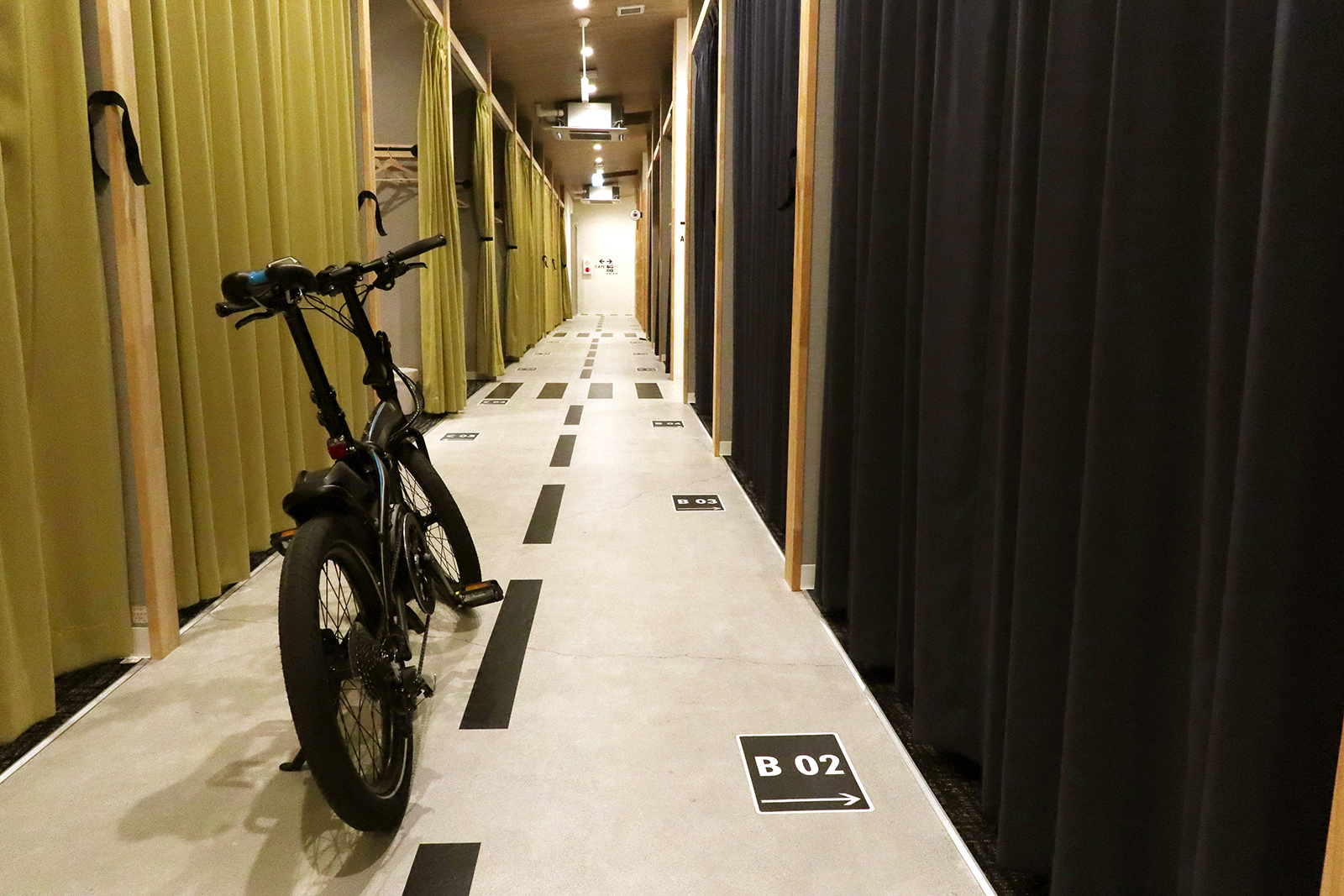 IKIDANE CYCLIST HOSTEL 館内